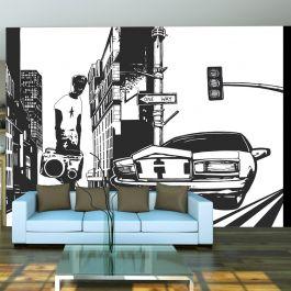 Φωτοταπετσαρία - Urban style