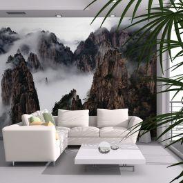 Φωτοταπετσαρία - Sea of clouds in Huangshan Mountain, China