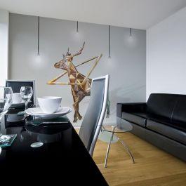 Φωτοταπετσαρία - deer (3D)