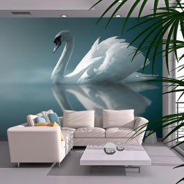 Φωτοταπετσαρία - White swan