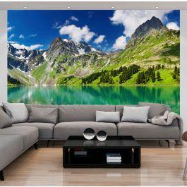 Φωτοταπετσαρία - Mountain lake
