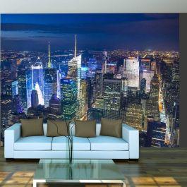 Φωτοταπετσαρία - Manhattan - night