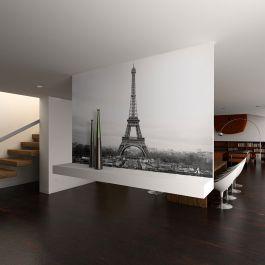 Φωτοταπετσαρία - Paris: black and white photography