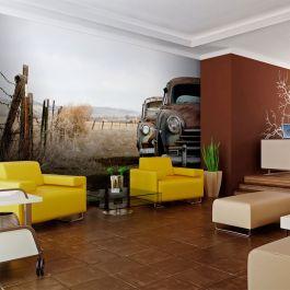 Φωτοταπετσαρία - Two old, American cars