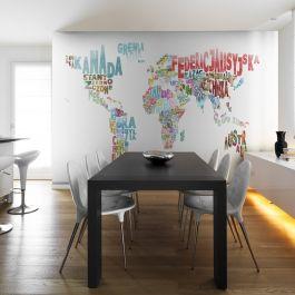 Φωτοταπετσαρία - map - world (in polish)