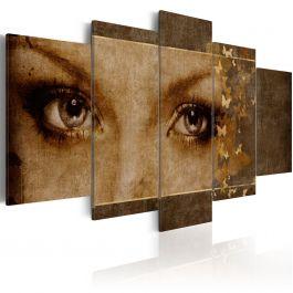Πίνακας - Eyes like butterflies