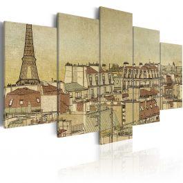 Πίνακας - Parisian past centuries
