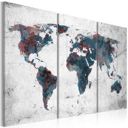 Πίνακας - Undiscovered continents - triptych