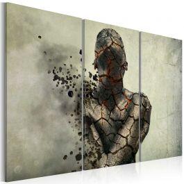 Πίνακας - The man of stone - triptych