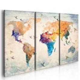Πίνακας - Free as a bird - triptych