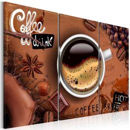 Πίνακας - Cup of hot coffee