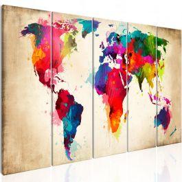 Πίνακας - Bright Continents