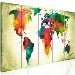Πίνακας - Unusual World Map