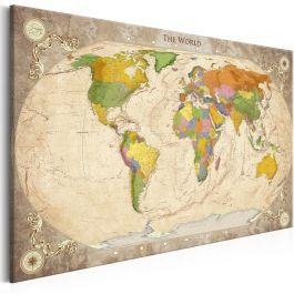 Πίνακας - Map and Ornaments