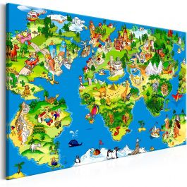 Πίνακας - Children's Map (1 Part) Wide