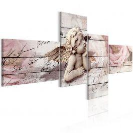 Πίνακας - Contemplation (4 Parts) 200x100