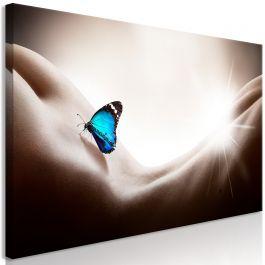 Πίνακας - Woman and Butterfly (1 Part) Wide