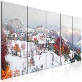 Πίνακας - First Snow (5 Parts) Narrow