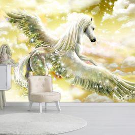 Φωτοταπετσαρία - Pegasus (Yellow)