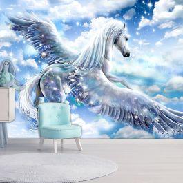 Φωτοταπετσαρία - Pegasus (Blue)