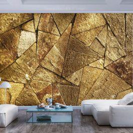 Φωτοταπετσαρία - Pavement Tiles (Golden)