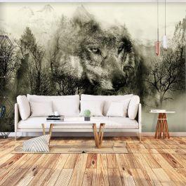 Φωτοταπετσαρία - Mountain Predator (Beige)