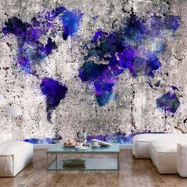 Φωτοταπετσαρία - World Map: Ink Blots