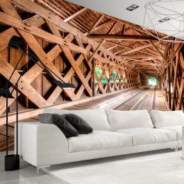 Φωτοταπετσαρία - Wooden Bridge