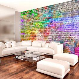 Φωτοταπετσαρία - Rainbow Wall