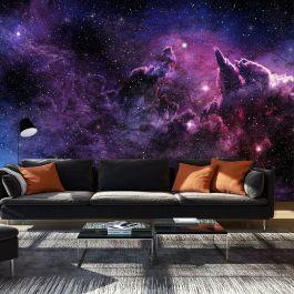 Φωτοταπετσαρία - Purple Nebula