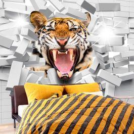Φωτοταπετσαρία - Tiger Jump