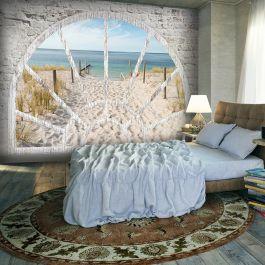 Φωτοταπετσαρία - Window View - Beach