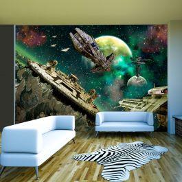 Φωτοταπετσαρία - Space fleet