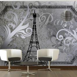 Φωτοταπετσαρία - Vintage Paris - silver