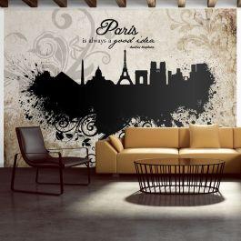 Φωτοταπετσαρία - Paris is always a good idea - vintage