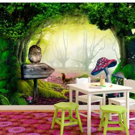 Φωτοταπετσαρία - Owlish corner