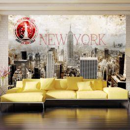 Φωτοταπετσαρία - New York - POST AGE STAMP