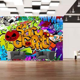 Φωτοταπετσαρία - Scary graffiti