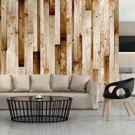 Φωτοταπετσαρία - Wooden boards