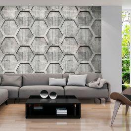 Φωτοταπετσαρία - Platinum cubes