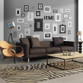 Φωτοταπετσαρία - Wall full of frames