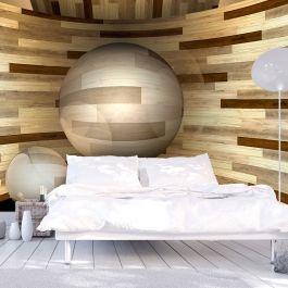 Φωτοταπετσαρία - Wooden orbit