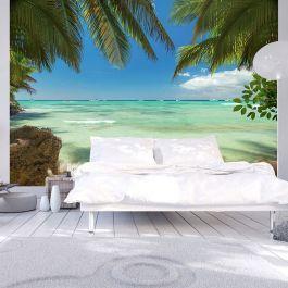 Φωτοταπετσαρία - Relaxing on the beach