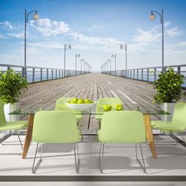 Φωτοταπετσαρία - On the pier