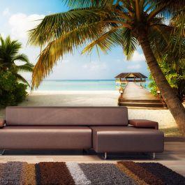 Φωτοταπετσαρία - Paradise beach