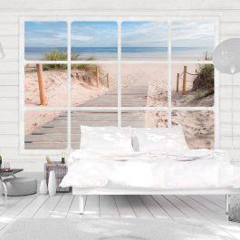 Φωτοταπετσαρία - Window & beach
