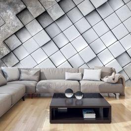 Φωτοταπετσαρία - Gray background 3D