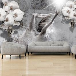 Φωτοταπετσαρία - Arrangement with orchid