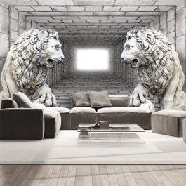 Φωτοταπετσαρία - Stone Lions
