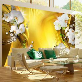 Φωτοταπετσαρία - Orchid in Gold